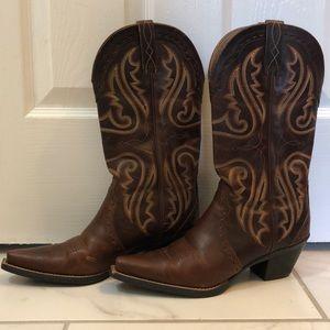 Artiat cognac boots size 8.5